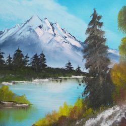 akryl plátno 5
