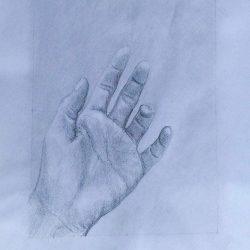 tužka II ruka