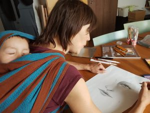 Kurz Kresleni Mama A Ja V Satku Atelier Mozaika